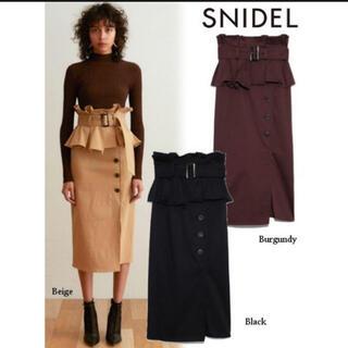 snidel - snidel ポンチタイトスカート