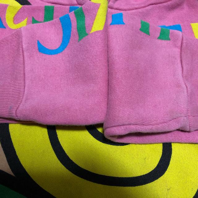 HYSTERIC MINI(ヒステリックミニ)のヒステリックミニ❤️キラミニパーカー 90センチ キッズ/ベビー/マタニティのキッズ服女の子用(90cm~)(Tシャツ/カットソー)の商品写真
