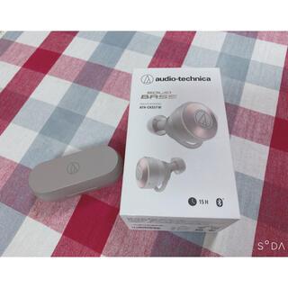 オーディオテクニカ(audio-technica)のオーディオテクニカ ワイヤレス イヤホン ヘッドホン(ヘッドフォン/イヤフォン)