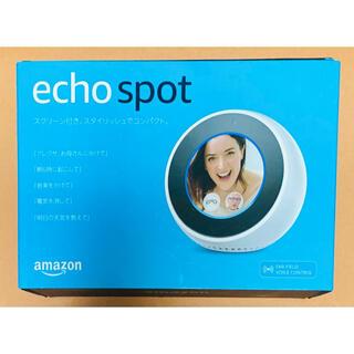 エコー(ECHO)のジャンク AMAZON echo spot エコースポット(スピーカー)