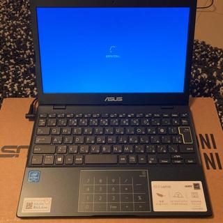 ASUS - ASUSノートパソコン ピーコックブルー 11.6型 E210MA-GJ001B