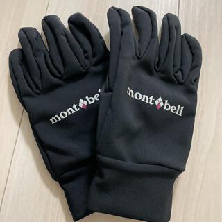 mont bell - ★未使用★ mont•bell ウインドストッパートレッキンググローブ