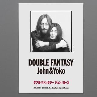 ジョンレノン - John & Yoko展覧会オフィシャルポスタ(写真)