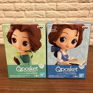 ディズニー(Disney)の【2種セット】Qposket petit フィギュア ベル(アニメ/ゲーム)