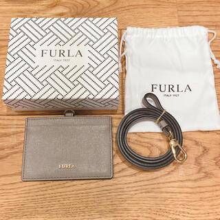 Furla - FURLA フルラ ID カード パス 社員証 ケース ホルダー