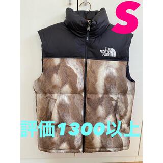 シュプリーム(Supreme)のsupreme noth face Fur Print Nuptse Vest(ダウンベスト)