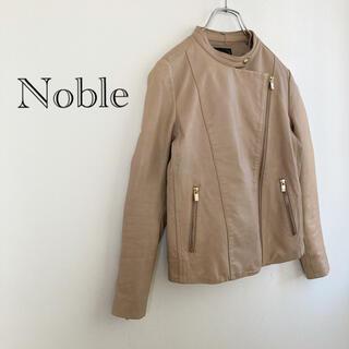 ノーブル(Noble)の★ノーブル★ラムレザージャケット ライダースジャケット(ライダースジャケット)