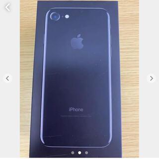 iPhone7   箱のみ  ブラック(その他)