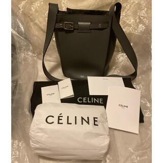 celine - 国内正規品 セリーヌ ビッグバッグ バケット ナノ グレー