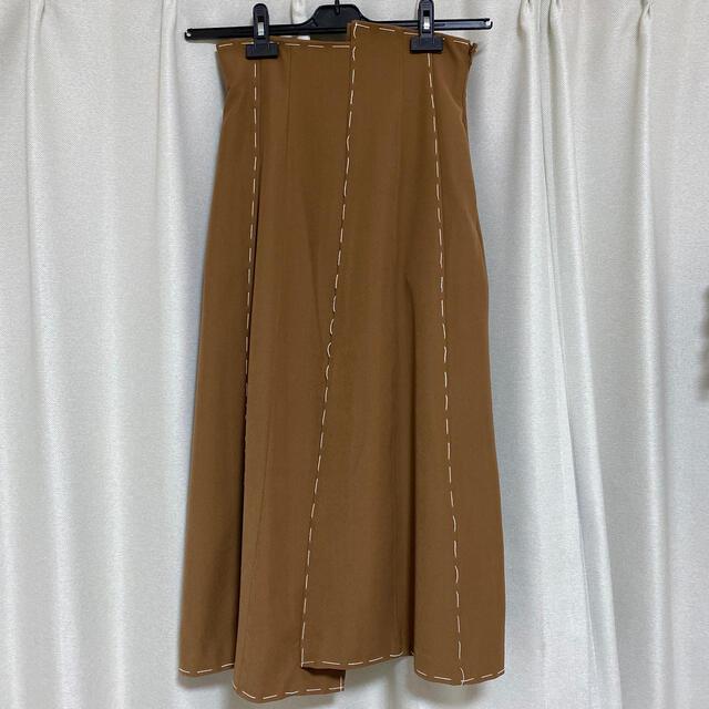 Ameri VINTAGE(アメリヴィンテージ)の専用Ameri VINTAGE ステッチスカートS レディースのスカート(ロングスカート)の商品写真