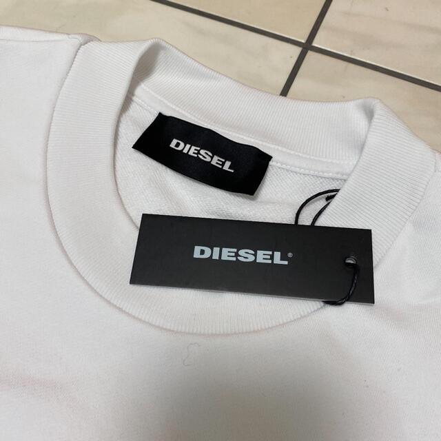 DIESEL(ディーゼル)のラスト1枚!再入荷無し! DIESEL ディーゼル ワッペンロゴ Sサイズ メンズのトップス(スウェット)の商品写真