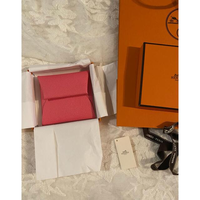 Hermes(エルメス)の未使用 hermes  エルメス バスティア コインケース ローズアザレ レディースのファッション小物(コインケース)の商品写真