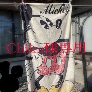 ディズニー(Disney)のミッキーの座布団カバー(クッションカバー)