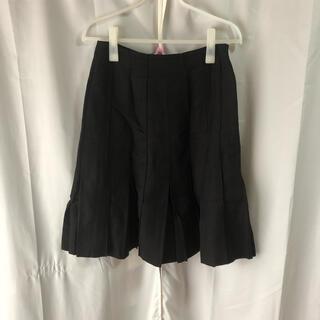 コムサイズム(COMME CA ISM)の膝丈プリーツスカート(ひざ丈スカート)