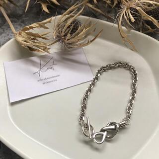 BEAUTY&YOUTH UNITED ARROWS - silver 925 Knot bracelet