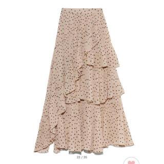 snidel - 新品タグ付き シアーボリュームプリーツスカート Mサイズ