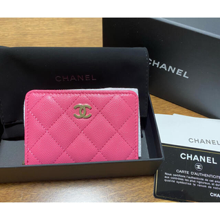 CHANEL - 【新品】シャネル❣️2021新作❣️ミニ財布 コンパクトウォレット❣️ピンク