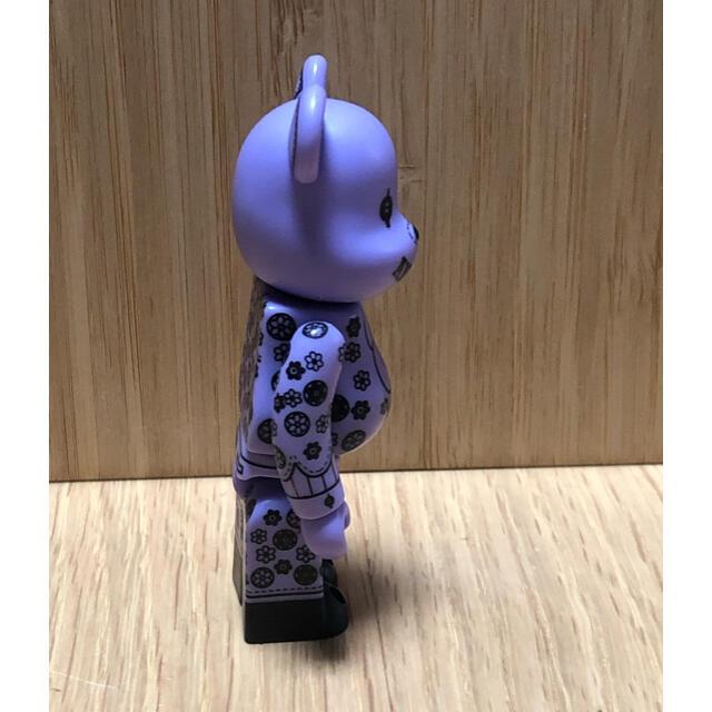 ANNA SUI(アナスイ)のベアブリック  100%  アナスイ パープル エンタメ/ホビーのフィギュア(その他)の商品写真