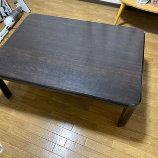 ミツビシ(三菱)の三菱 家具調 テーブル(こたつ)