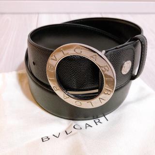 ブルガリ(BVLGARI)の【期間限定値下げ!】美品 BVLGARI ブルガリ ベルト ブラック(ベルト)
