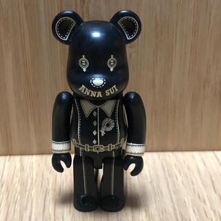 アナスイ(ANNA SUI)のベアブリック  100%  アナスイ 黒(その他)