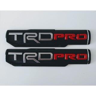 TRD PRO-ボディサイドステッカー 両サイド2枚セット(車外アクセサリ)