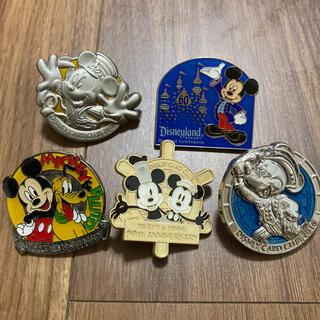 ディズニー(Disney)のJCBディズニーピン5個(バッジ/ピンバッジ)