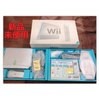 Wii - Wii ♡ 新品未使用 任天堂 ゲーム ゲーム機 本体 セット