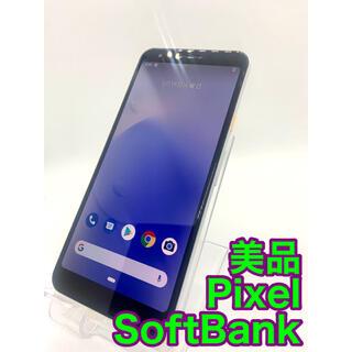 『美品』Pixel 3a SoftBank ホワイト 41