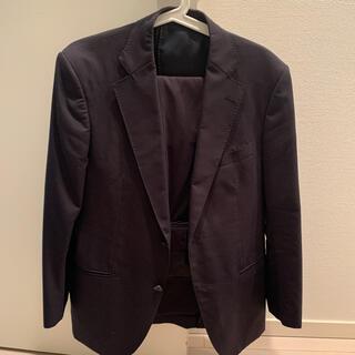 スーツ 上下 ネイビー 濃紺 ビジネス 仕事 リクルート L