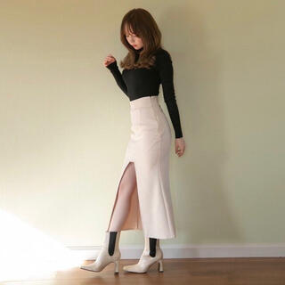 Bubbles - 【求】ANDMARY スクエアスリットタイトスカート