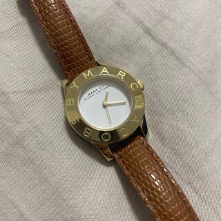 マークバイマークジェイコブス(MARC BY MARC JACOBS)のmarc jacobs 時計 ブラウン ゴールド(腕時計)
