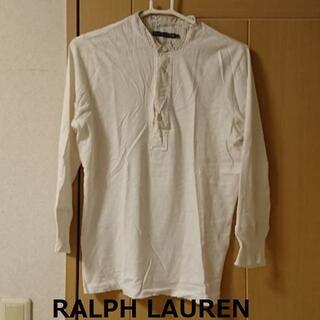 Ralph Lauren - ★格安 RALPH LAUREN(ラルフローレン)ロングTシャツ 白★