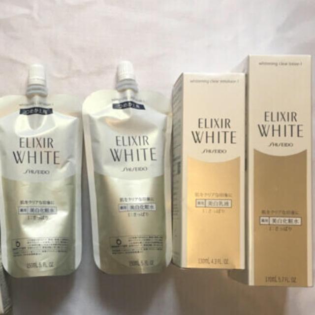 ELIXIR(エリクシール)の最終値下げ 新品4個 美白 エリクシールホワイト クリアローション コスメ/美容のスキンケア/基礎化粧品(化粧水/ローション)の商品写真