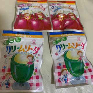 ユーハミカクトウ(UHA味覚糖)のさくらんぼの詩 クリームソーダ 各2袋セット 計4個(菓子/デザート)