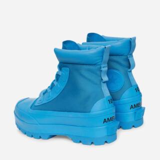 アンブッシュ(AMBUSH)のCONVERSE Ambush CTAS Duck Boots 青 28(ブーツ)