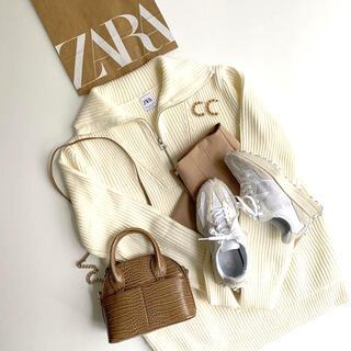 ZARA - ZARA ポケット テクスチャード セーター
