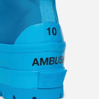 アンブッシュ(AMBUSH)のCONVERSE Ambush CTAS Duck Boots 青 28.5(ブーツ)
