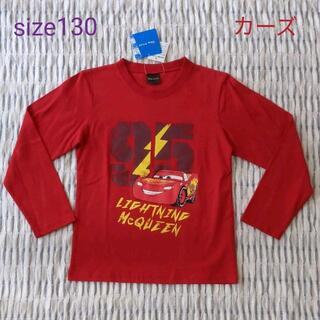 ディズニー(Disney)の130新品☆カーズ赤ロンT☆(Tシャツ/カットソー)