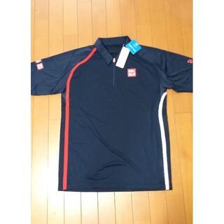 ユニクロ(UNIQLO)のノバク.チョコビ専用 ユニクロ テニスシャツ NDドライEX US OPEN(ウェア)