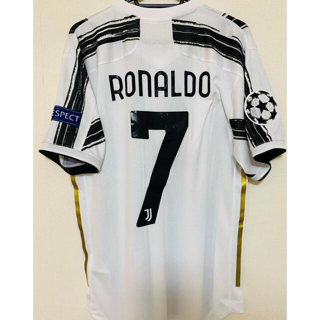 adidas(アディダス)のユヴェントス ロナウド ユベントス 20/21 adidas ユニフォーム スポーツ/アウトドアのサッカー/フットサル(ウェア)の商品写真