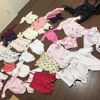 女児 女の子向け 新生児 ベビー服 まとめ売り