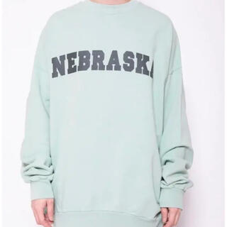 RAF SIMONS - Raf simons archive SWEATER WITH NEBRASKA