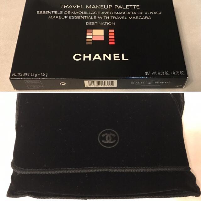 CHANEL(シャネル)の【CHANEL】トラベル メイクアップパレット デスティネーション(海外限定品) コスメ/美容のベースメイク/化粧品(その他)の商品写真