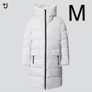 Jil Sander - 【着用回数1回】ライトダウンボリュームロングフーデッドコート M