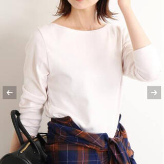 IENA - 美品 IENA  オーラリー ボートネックTシャツ