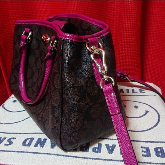 COACH(コーチ)の限定値下げ❣ COACH コーチ  ミニマーゴットハンドバッグ 美品❣ レディースのバッグ(ハンドバッグ)の商品写真