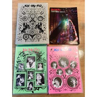 キスマイフットツー(Kis-My-Ft2)のKis-My-Ft2  キスマイ LIVE DVD (アイドルグッズ)