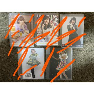 エイチケーティーフォーティーエイト(HKT48)の指原莉乃 生写真 全5種類セット 激レア 新品(女性タレント)