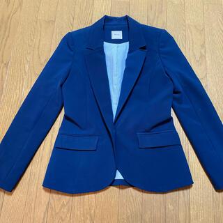 ミーア(MIIA)のMIIA ミーア ジャケット ブレザー ネイビー サイズ2   160/84A(テーラードジャケット)